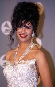 selena in the press room at the 1994 grammy awards in new york city new
