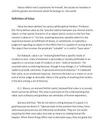 values education ma values