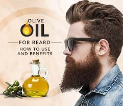 top 5 benefits of olive oil for beard