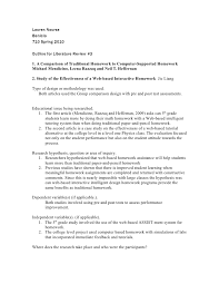Literature Review Outline Lit Review Outline 3