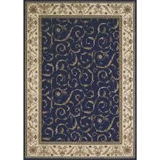 awesome dark blue area rugs square blue cream brown fl pattern with regard to blue and gold area rugs modern