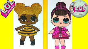 Lol Surprise Doll Coloring Page Queen Bee Fancy Coloring