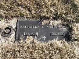 Priscilla Day McNamara (1920-1981) - Find A Grave Memorial