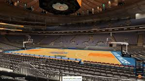 madison square garden seating chart view from section 108
