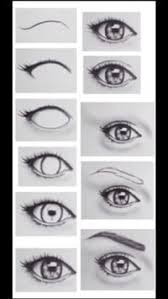 How To Draw Eyes Step By Step 60 Lowest How To Draw Easy Eyes Step By Step