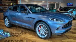 The New 2020 Aston Martin Dbx Suv Interior Exterior First Look Aston Martin Newport Beach Youtube