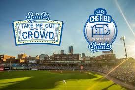 St Paul Saints Professional Baseball Pick Your Seat