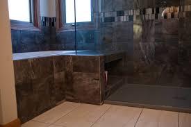 bathroom remodeling wichita ks. Wonderful Wichita Granite Counter Tops Master Bathroom Remodel Wichita KS Shower Seat With  Shampoo Shelf In Remodeling Ks