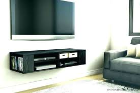 where to put cable box for wall mounted tv wall where to put your cable box