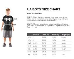 Under Armour Sizing Chart For Youth 52 Experienced Under Armour Womens Shorts Size Chart