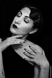 old hollywood film noir makeup tutorial