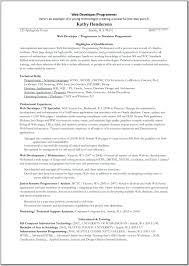 Cover Letter J2ee Programmer Resume J2ee Programmer Resume