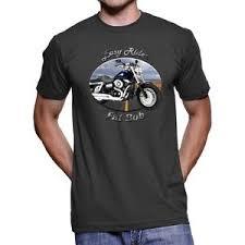 harley davidson fat bob easy rider men s dark t shirt ebay