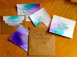 diy fantasmic inspired watercolor save the date cards