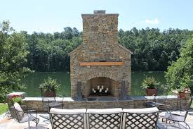 stone fireplace outdoor designs ideas pertaining to how build a idea 12