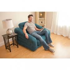 intex inflatable furniture. chauffeuse gonflable bleu vert 2 en 1 intex inflatable furniture
