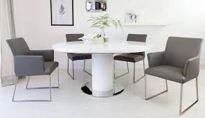 bianca round white sets extendable grey savoy and harveys chairs table gloss high large small excellent