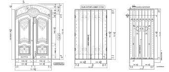 custom fire rated doors drawings2