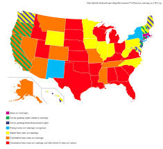 Allows gay lesbian marriage state which