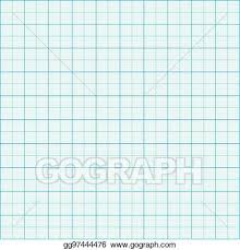 Vector Illustration Graph Paper Coordinate Paper Grid