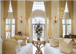 Pretty Curtains Living Room How To Decorate With Two Story Curtains My Decorating Tips