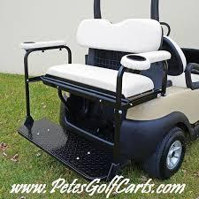 golf cart seat kit flip down club car precedent