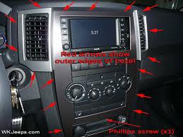jeep grand cherokee wk interior trim removal truck jeep grand cherokee wk interior trim removal