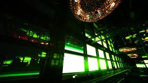 wall displays rhythmically flashing colored lights in corner nightclub stock footage 1484749 shutterstock
