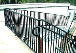 pipe stair rail black railing image of combine view larger handrail fittings gas 3 4 spindles