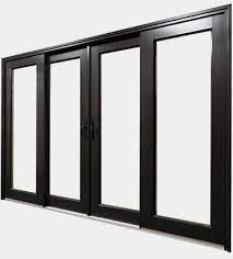 patio doors aluminum clad lux