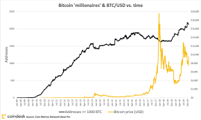 Bitcoin Wallet Chart The Bitcoin Rich List Has Grown 30 In The Last Year But