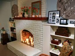 Diy Fireplace Makeover Ideas Decorating Ideas For Brick Fireplace Wall Shenracom
