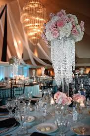 chandelier al cost decorate for wedding fake chandeliers parties teardrop tabletop centerpieces centerpiece table hanging flowers