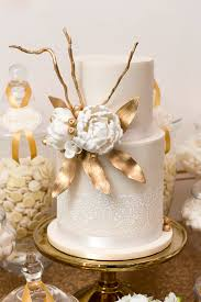 Karas Party Ideas Elegant Gold White Baptism Party Karas Party
