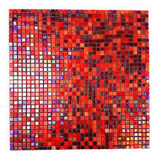 abolos constellation red mix 11 7 in x 11 7 in x 3 20 mm glass mosaic