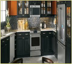 painted kitchen cabinets with black appliances. Perfect With Best Color To Paint Kitchen Cabinets With Stainless Steel Appliances  F89X In Attractive Home Design Trend With  And Painted Black R