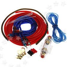 w car amplifier rca audio gauge wiring amp agu fuse cable item specifics
