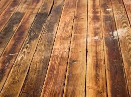 a waterloo wood floor displaying water damage