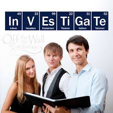 <b>Science Wall Decal</b>, <b>Investigate-Periodic</b> Table sticker, Classroom ...