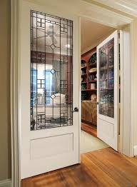 wood interior doors with glass