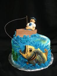 Grab The Catch Of The Day With This Fishing Grooms Cake The Topper