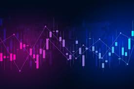 Stock Exchange Chart Market Investment Trading Vector