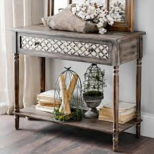 sofa hall table. distressed rustic mirrored console table sofa hall r
