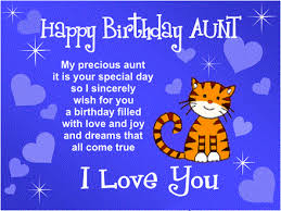 20 Latest And Best Happy Birthday Aunt Wishes
