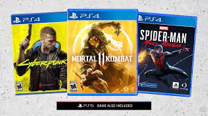 every single ps4 to ps5 free upgrade