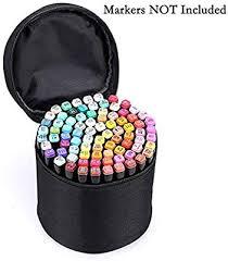 BTSKY <b>Multifunction</b> Marker Case - Zippered <b>Canvas</b> Pen Bag ...