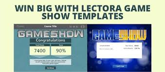 Gameshow Templates Win Big With Lectora Game Show Templates Elearning Brothers