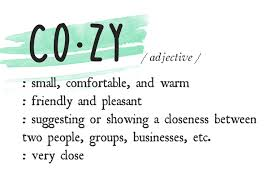 cozy definition 4_learning to love white