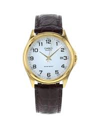 the ultimate guide to men s watches the idle man mens casio watch gold face leather strap