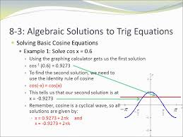 essential question how do we find the non calculator solution to